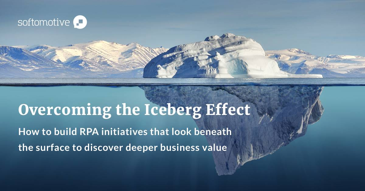 Overcome the iceberg effect